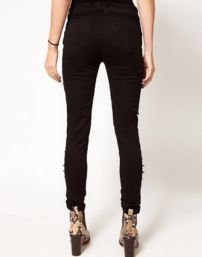Image 2 ofTripp Nyc Tear It Up Skinny Jeans