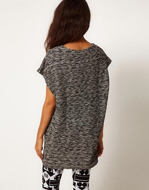 Image 2 ofASOS Tunic in Flecked Fabric
