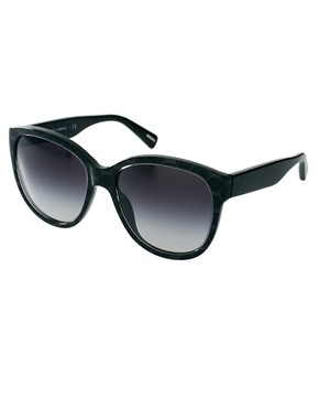 Image 1 ofDolce And Gabanna Grey On Black Sunglasses