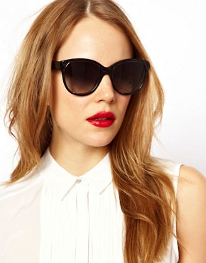 Image 3 ofDolce And Gabanna Grey On Black Sunglasses