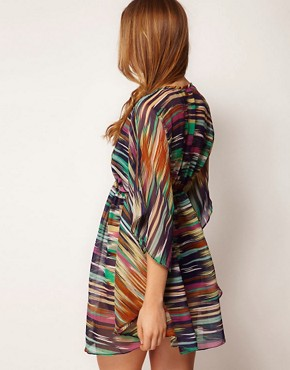 Image 2 ofProphecy Kaftan in Multi Print