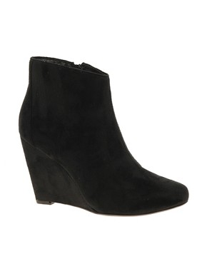 Image 1 of ASOS AWAKE Wedge Ankle Boots