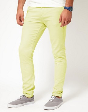 Image 1 ofASOS Skinny Bright Chinos