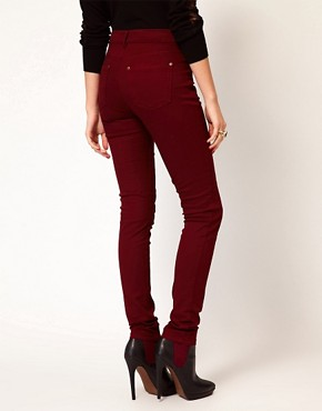 Image 2 ofOasis Full Leg Cherry Jean