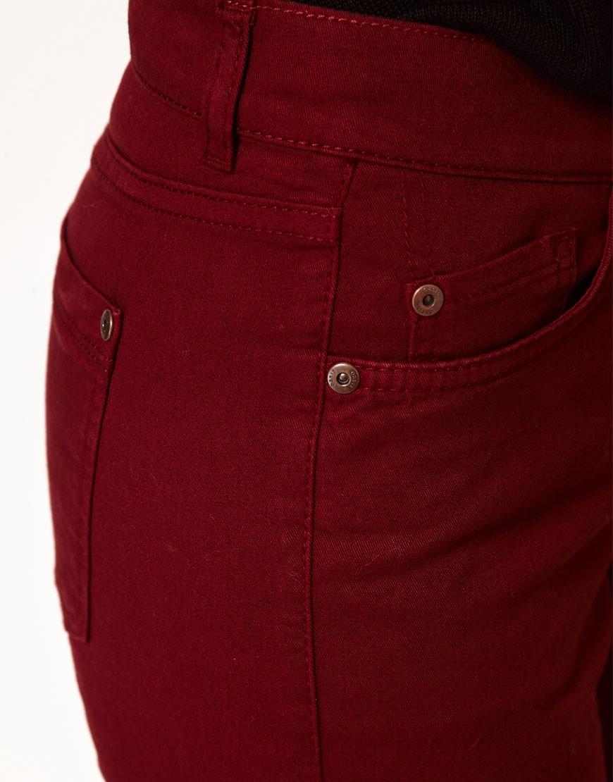 Image 3 ofOasis Full Leg Cherry Jean