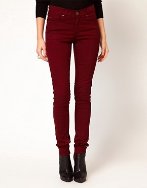 Image 1 ofOasis Full Leg Cherry Jean