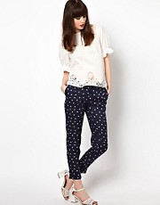 Sessun Polka Dot Peg Trousers