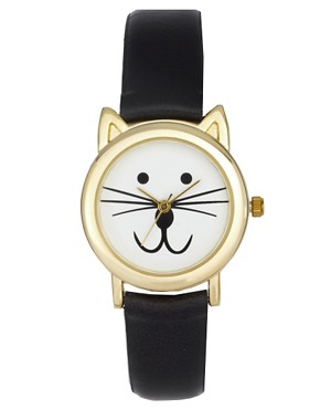 Image 1 ofASOS Cat Ears Watch
