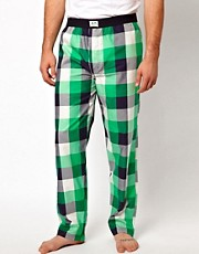 Jack &amp; Jones Check Lounge Pants