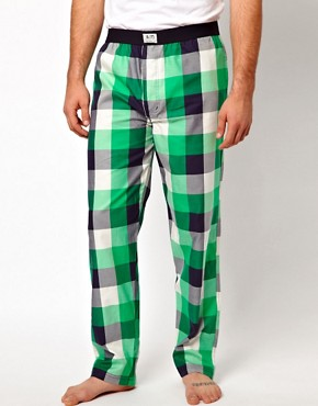 Image 1 ofJack &amp; Jones Check Lounge Pants