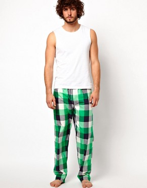 Image 4 ofJack &amp; Jones Check Lounge Pants