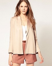 French Connection Drape Front Blazer
