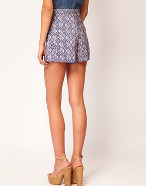 Image 2 ofRiver Island Tribal Print Shorts