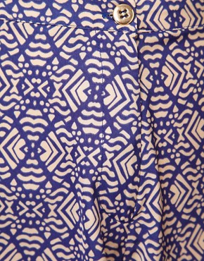 Image 3 ofRiver Island Tribal Print Shorts