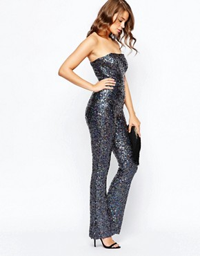 French Connection Lunar Sparkle Jumpsuit