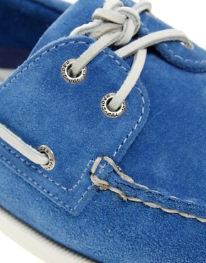 Image 2 ofSperry Top-Sider Suede Boat Shoes