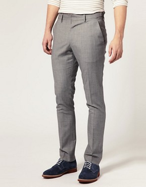 ASOS Slim Fit Check Pants