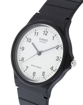 Image 4 ofCasio MQ-24-7BLL Analogue Resin Strap watch