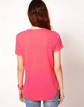 Image 2 ofLnA Zipper T-Shirt
