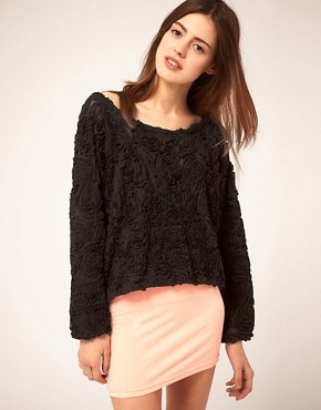 Image 1 of American Apparel Rosette Jumper