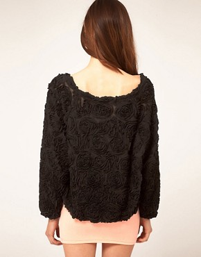 Image 2 of American Apparel Rosette Jumper