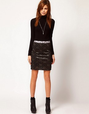 Image 1 ofLe Ciel Lace Skirt