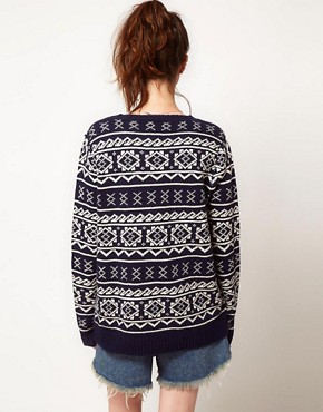 Image 2 ofOne Teaspoon Fairisle Oversized Knit