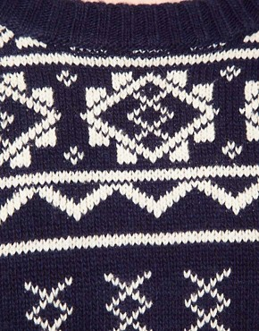 Image 3 ofOne Teaspoon Fairisle Oversized Knit