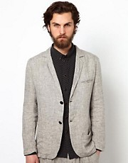 Uniforms for the Dedicated Blazer in Linen Melange