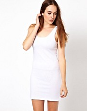 Vila Scoop Neck Body Con Dress