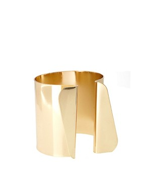 Image 1 ofASOS Cuff with Irregular Shaped Triangle Detail