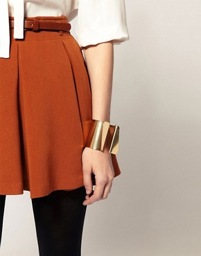Image 3 ofASOS Cuff with Irregular Shaped Triangle Detail