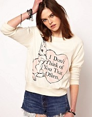 The Orphan's Arms I Don't Think Of You Raglan Jumper