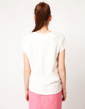 Image 2 ofVero Moda Flamingo Print T-Shirt