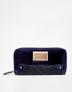 Lipsy Metallic Navy Purse