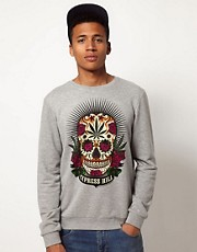 ASOS Sweatshirt With Cypress Hill Print