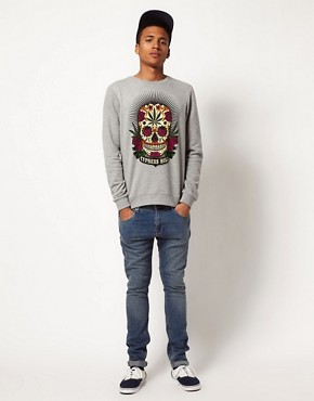 Image 4 ofASOS Sweatshirt With Cypress Hill Print