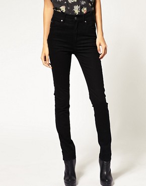 Image 1 ofCheap Monday Black Second Skin Skinny Jean