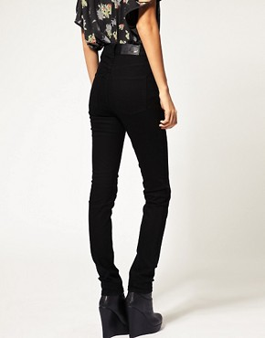 Image 2 ofCheap Monday Black Second Skin Skinny Jean