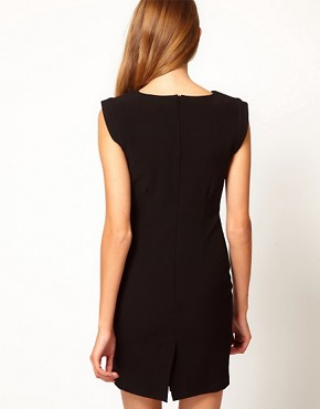 Image 2 ofA Wear Clasp Front Shift Dress