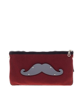 Image 1 ofKoku Moustache Pouch Bag
