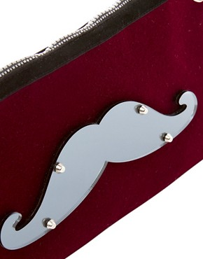 Image 2 ofKoku Moustache Pouch Bag