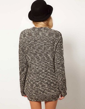 Image 2 ofASOS Studded Boyfriend Cardigan
