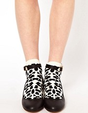 Calcetines bajos con estampado de leopardo de Happy Socks