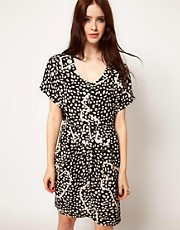 Numph Graphic Print Dress