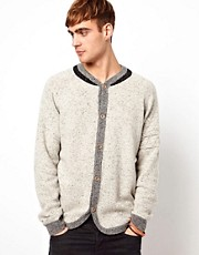 Diesel - K-Ardath - Cardigan lavorato a maglia con maniche raglan e scollo alto