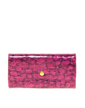 Image 1 ofMax C Snakeskin Effect Clutch