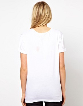 Image 2 ofASOS Maternity Flamingo T-Shirt