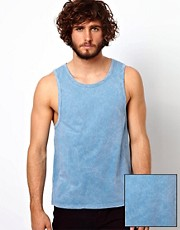 ASOS Vest With Acid Wash