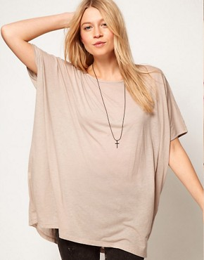 Image 1 of ASOS Cape T-Shirt
